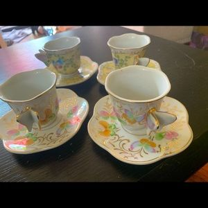 Formalities by Baum Bros. Butterfly Teacups